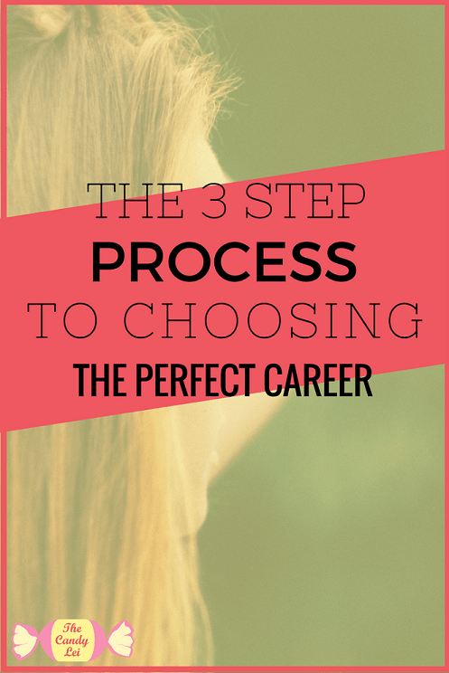 3 steps to choose the perfect career