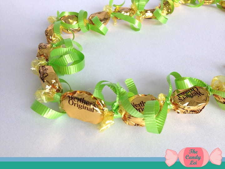 Werthers candy lei