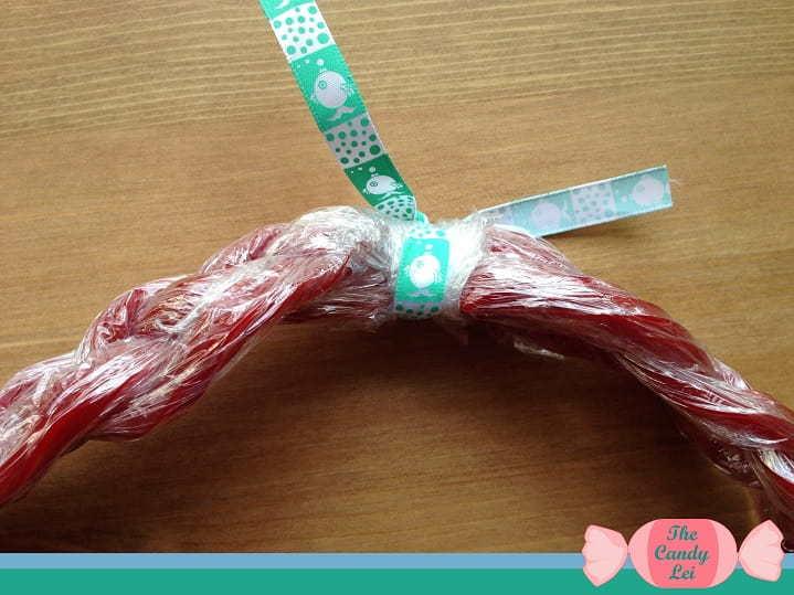 Twizzlers lei ribbon