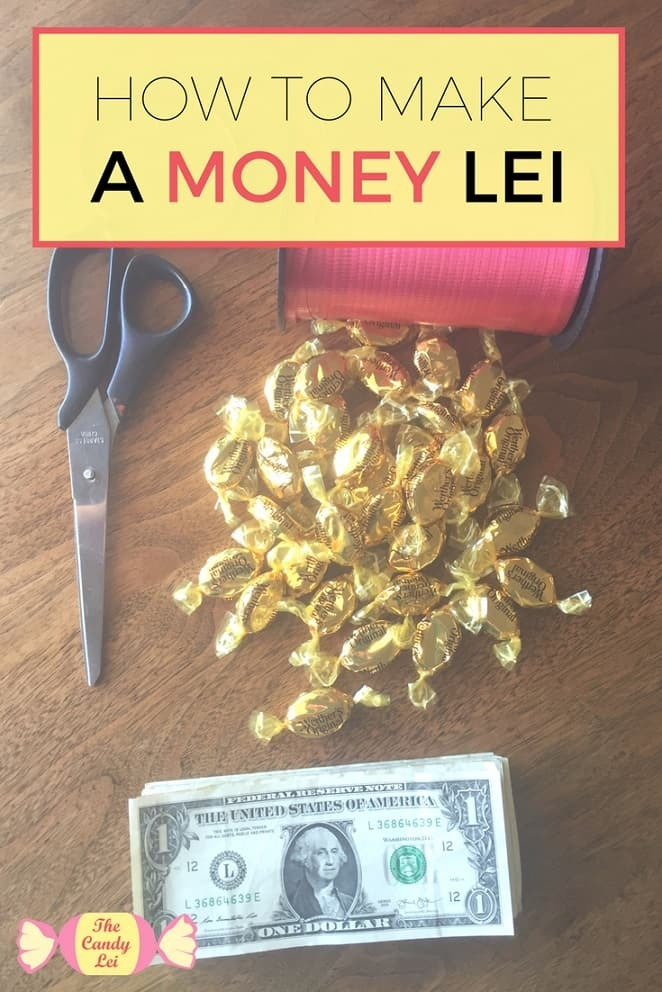 How to make a money lei