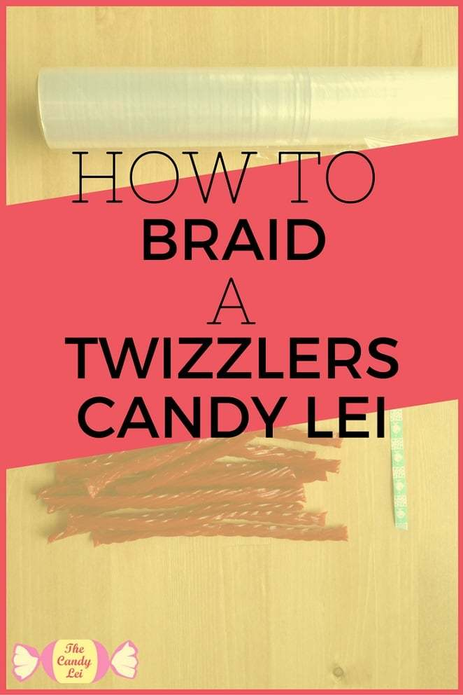 How to make a graduation lei out of twizzlers