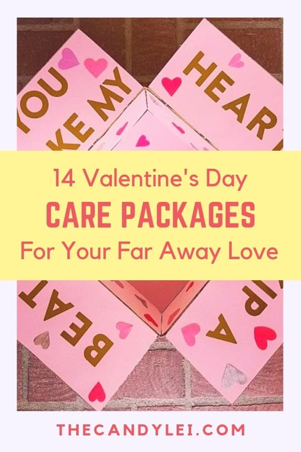 14 Valentines day care packages for your far away love