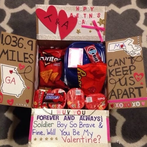 14 Cute Valentines day care packages for your loved one