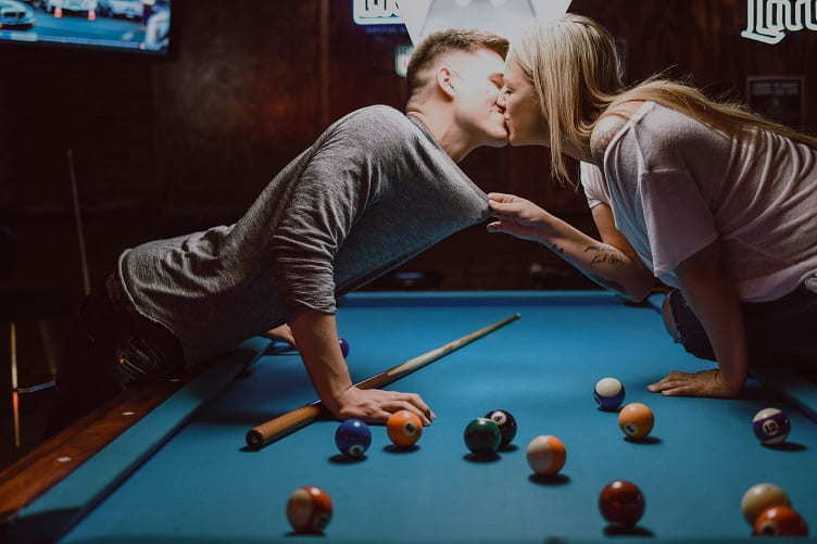 A game of pool or bowling can be a fun inexpensive valentine's day date