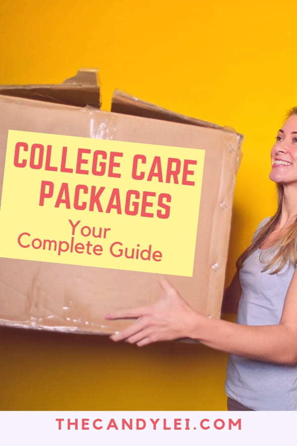 Your complete guide to making and sending a college care package