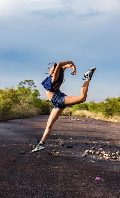 Senior picture for dancer