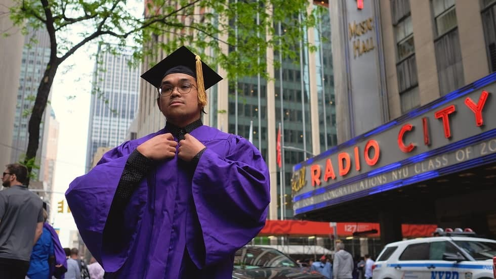 Radio City graduation picture