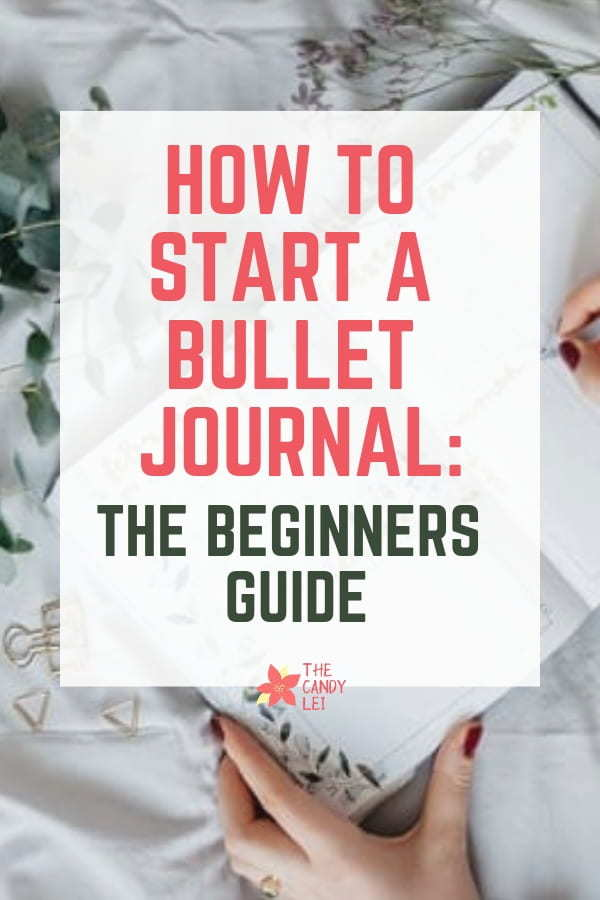 How to Start a bullet journal - a beginners guide for college students