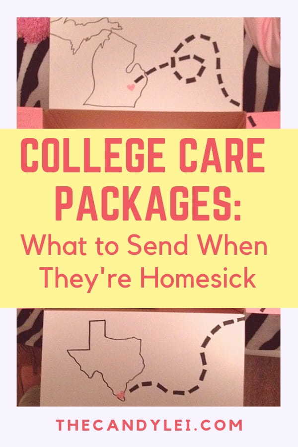What to put in college care packages