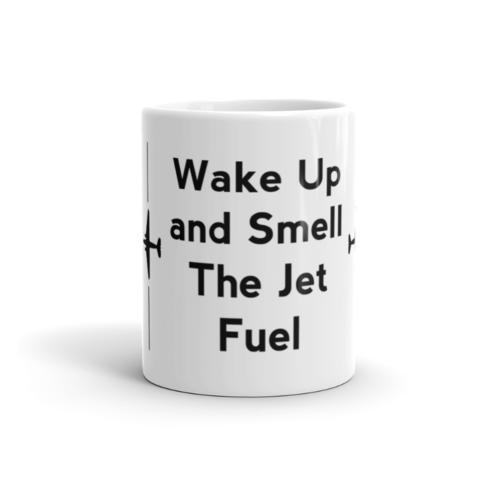 Wake up and smell the jet fuel